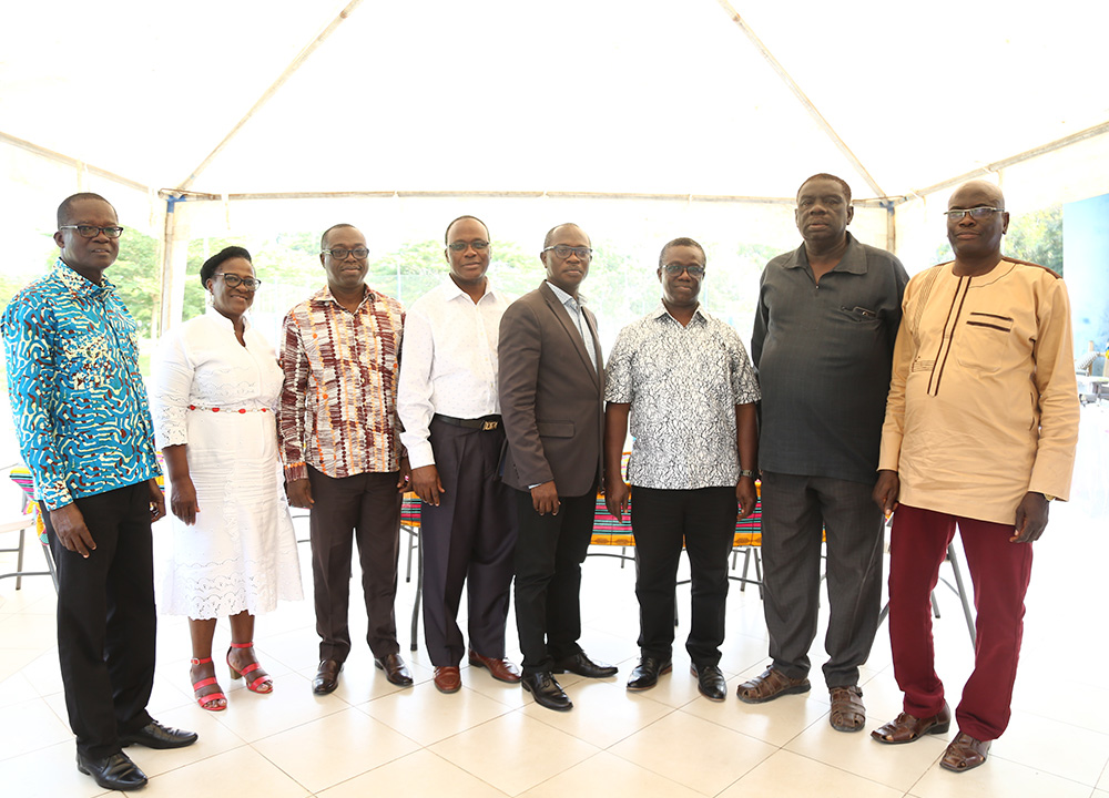 The retirees with some officials of UCC